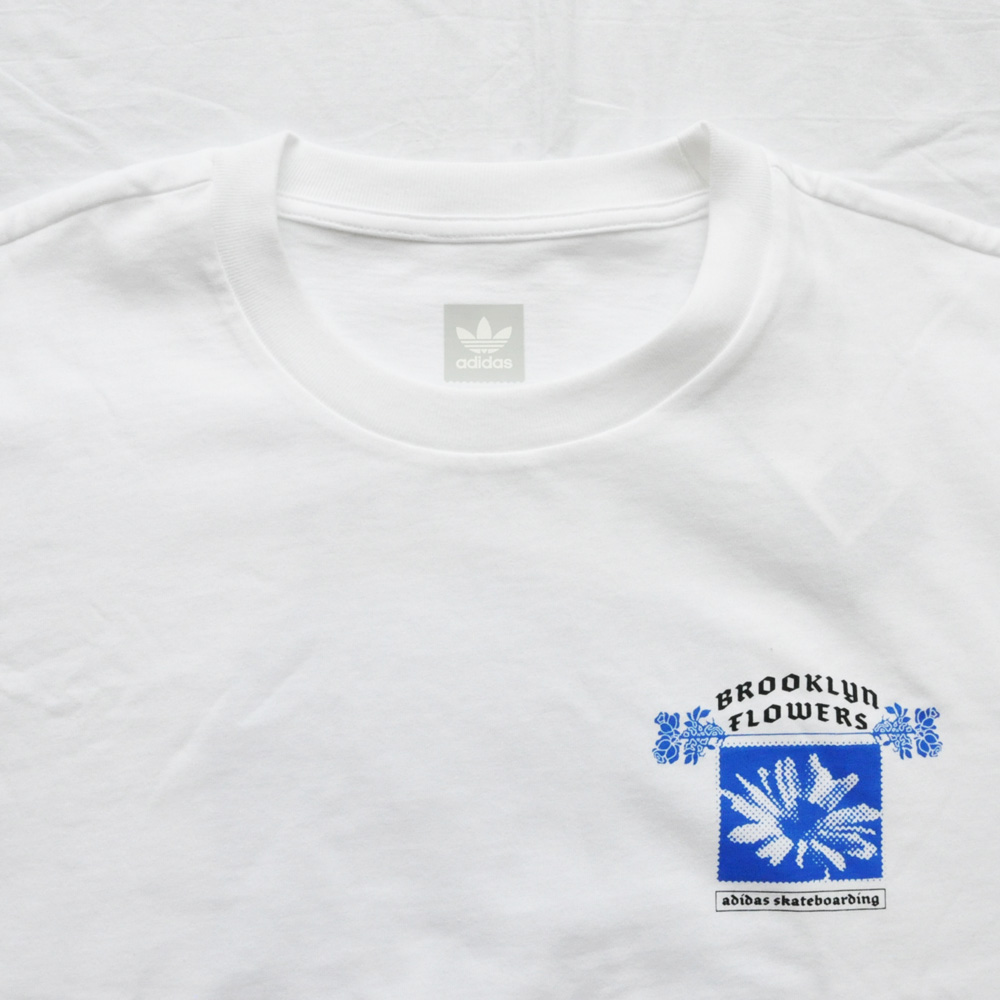 ADIDAS/アディダス adidasOriginal SKATEBOARDING BROOKLYN FLOWERS TEE-4