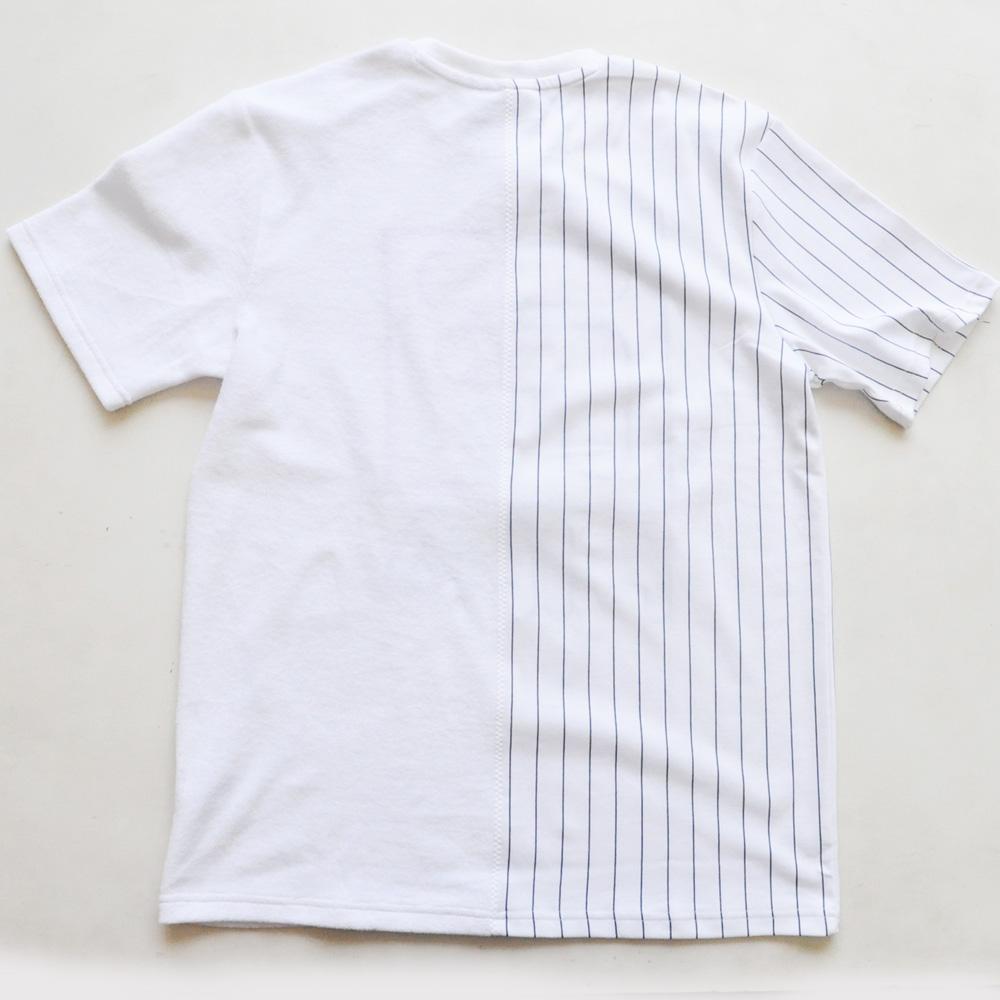 FILA /フィラ スプリットロゴ パイル地 ゲーム半袖Tシャツ-2