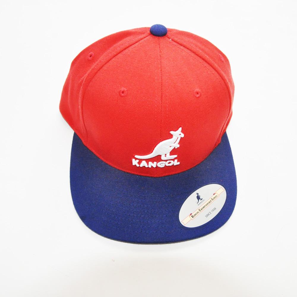 KANGOL/カンゴール フロントブランドロゴ刺繍 スナップバック 2カラー-2