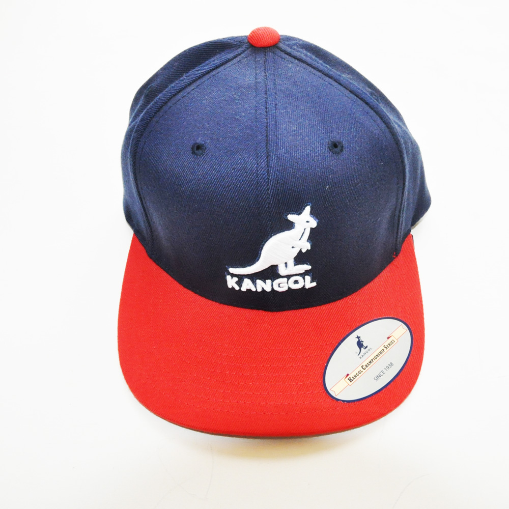 KANGOL/カンゴール フロントブランドロゴ刺繍 スナップバック 2カラー-3