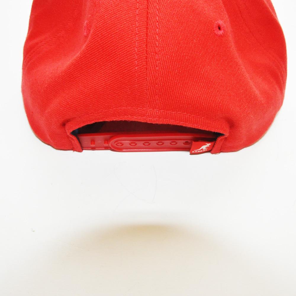 KANGOL/カンゴール フロントブランドロゴ刺繍 スナップバック 2カラー-4
