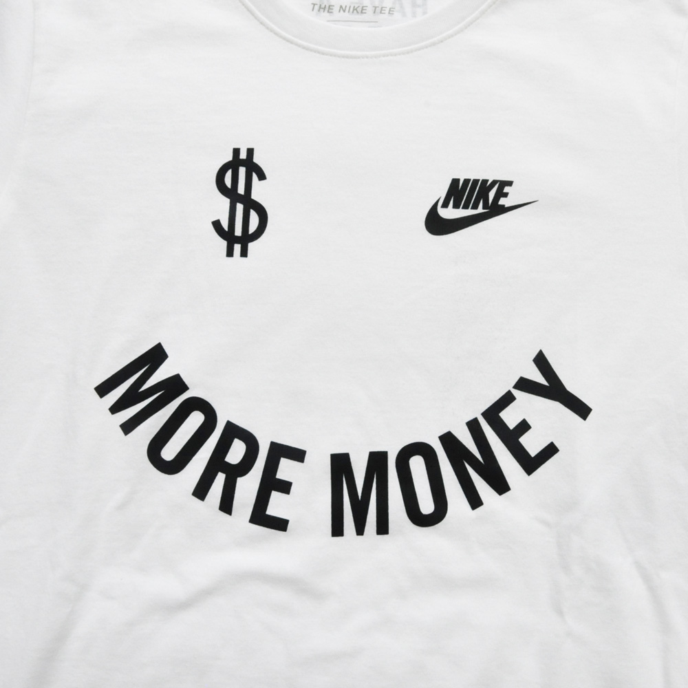 NIKE/ナイキ MORE MONEY HAVE A NIKE DAY 半袖Tシャツ 海外モデル-3