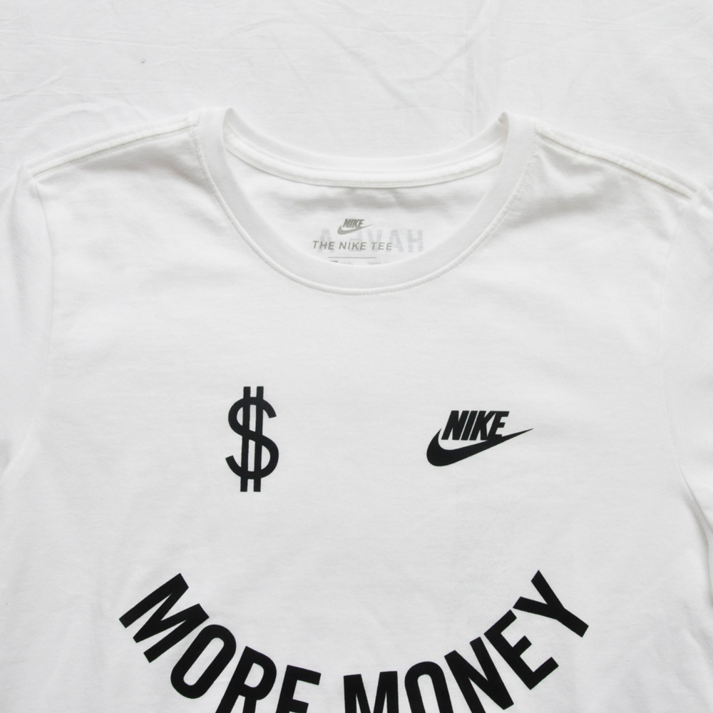 NIKE/ナイキ MORE MONEY HAVE A NIKE DAY 半袖Tシャツ 海外モデル-5