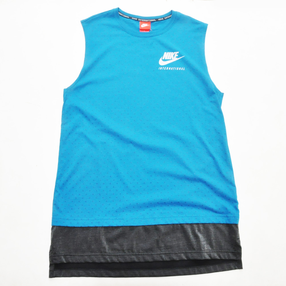 NIKE/ナイキ NIKE INTERNATINAL RUNNING TANK TOP ロング丈