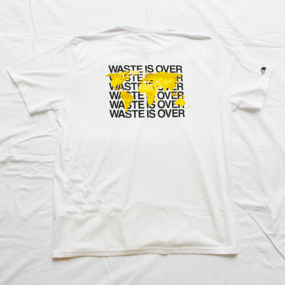 THE NORTH FACE/ザノースフェイス THE NORTH FACE×NATIONAL GEOGRAPHIC WASTE IS OVER TEE BIG SIZE