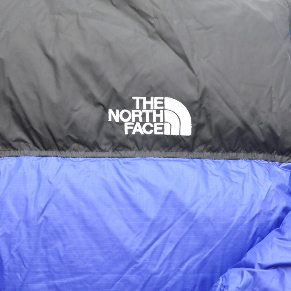 THE NORTH FACE/ザノースフェイス 1996 RETRO NUPTSE JACKET USモデル ブラック×ブルー BIG SIZE-5