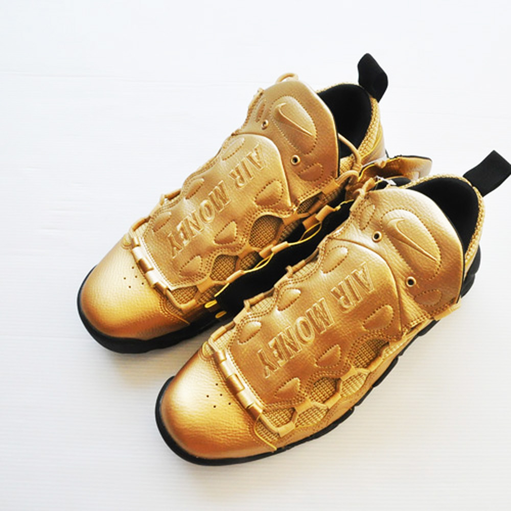 NIKE/ナイキ AIR MORE MONEY GOLD