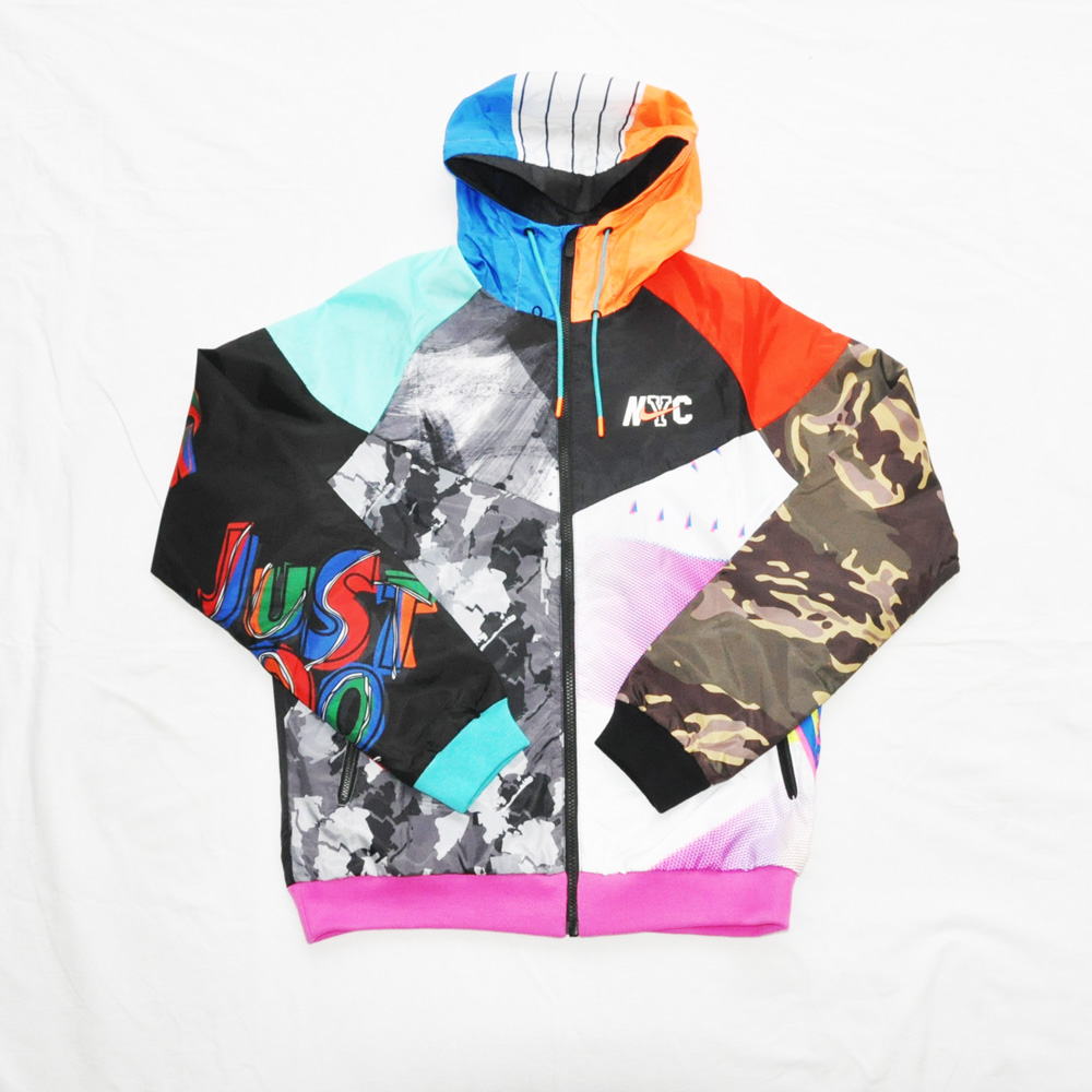 NIKE/ナイキ NIKE SPORTS WEAR WIND RUNNER NYC ナイロンジャケット