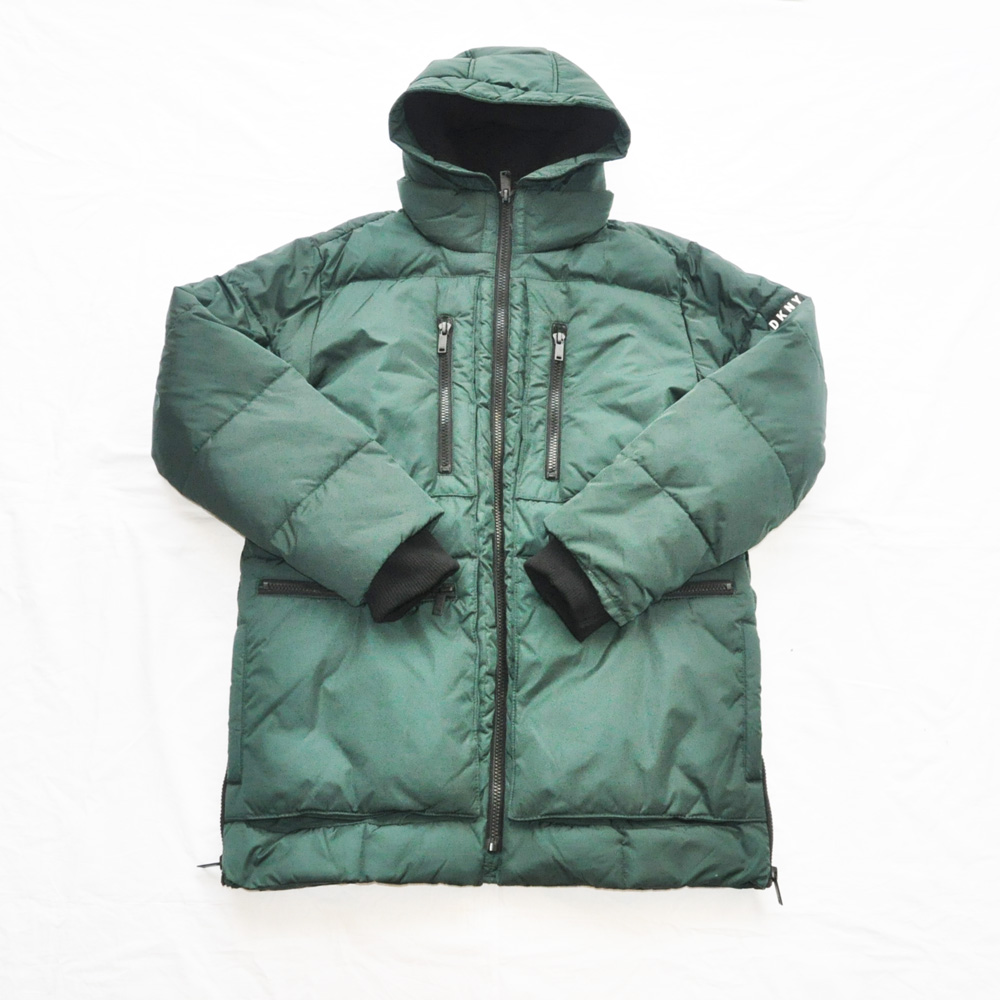 DKNY/ダナキャラン WIND RESISTANT HOODE N-3B BATTING JACKET