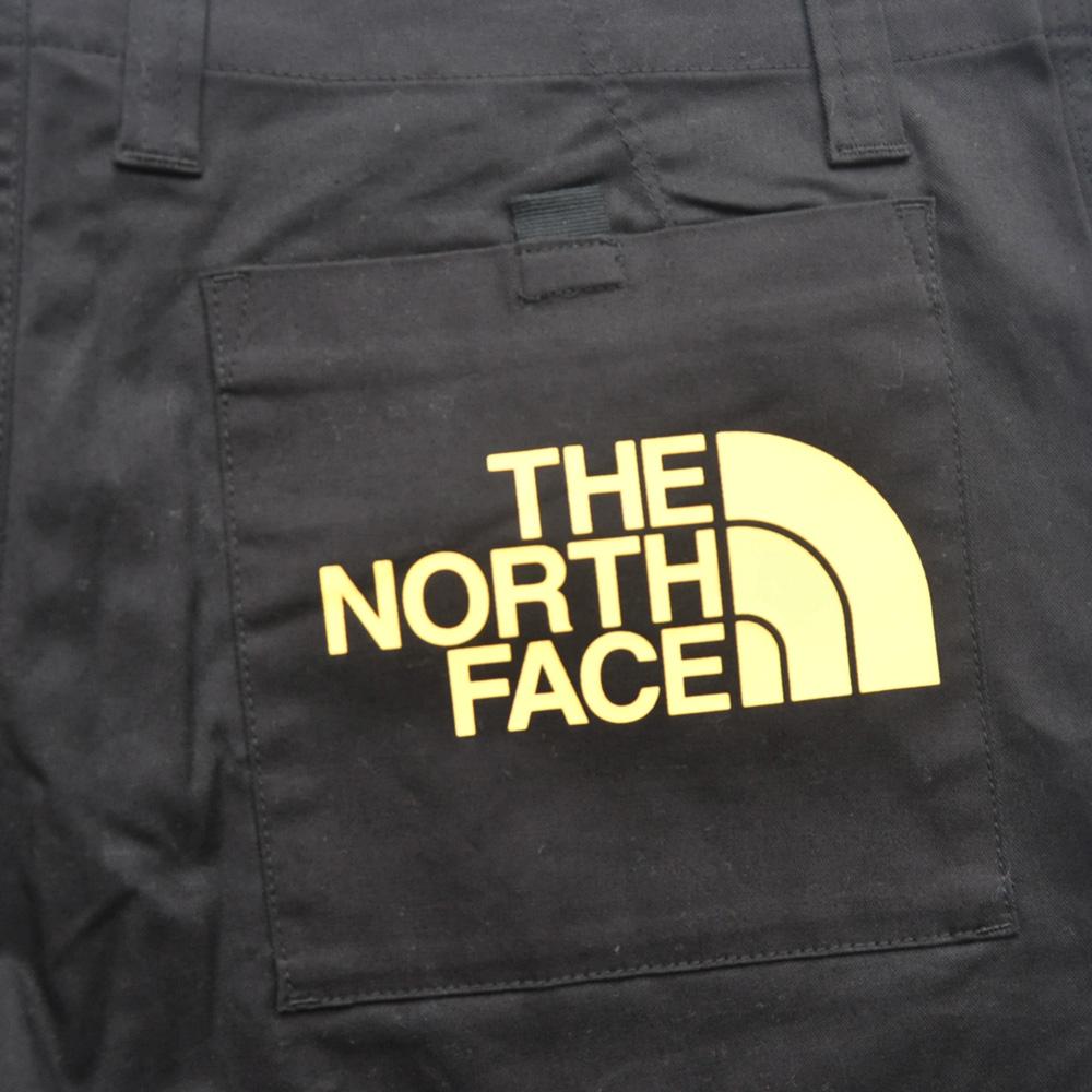 THE NORTH FACE/ザノースフェイス BACK PRINT SLACK PANTS BLACK BIG SIZE-3