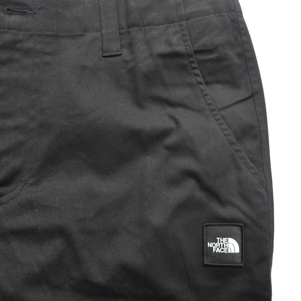 THE NORTH FACE/ザノースフェイス BACK PRINT SLACK PANTS BLACK BIG SIZE-6