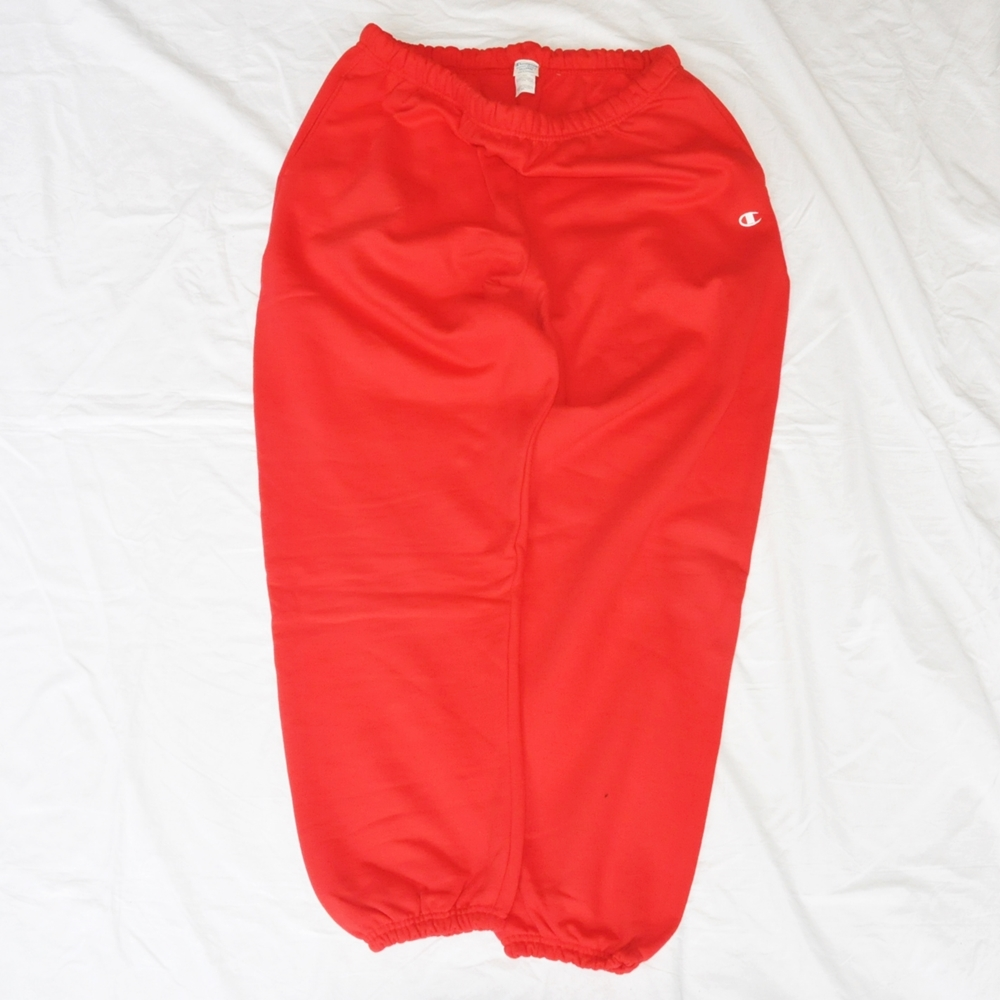 CHAMPION/チャンピオン REVERSE WEAVE SWEAT PANTS RED BIG SIZE