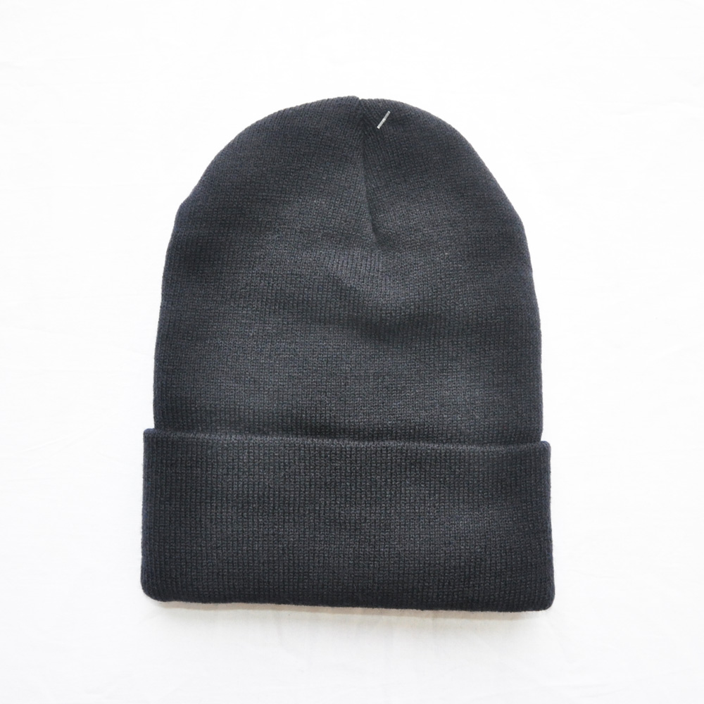DAVE'S NEW YORK/デイヴス ニューヨーク 3M THINSULATE DAVE'S NEW YORK ICONIC LOGO KNIT BEANIE NAVY-2