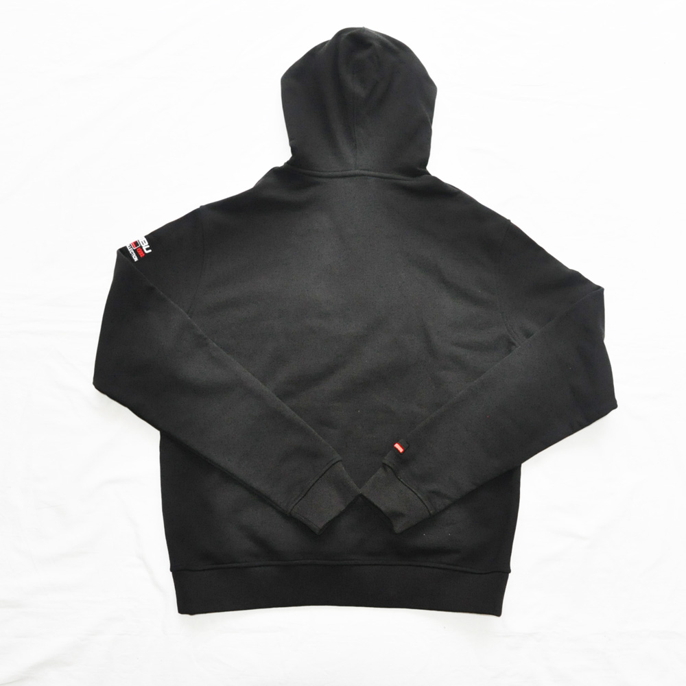 FUBU/フーブ LOGO SWEAT HOODIE BLACK DEAD STOCK-2