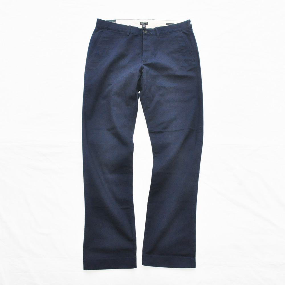 J.CREW/ジェイクルー STRAIGHT COLOR PANTS NAVY