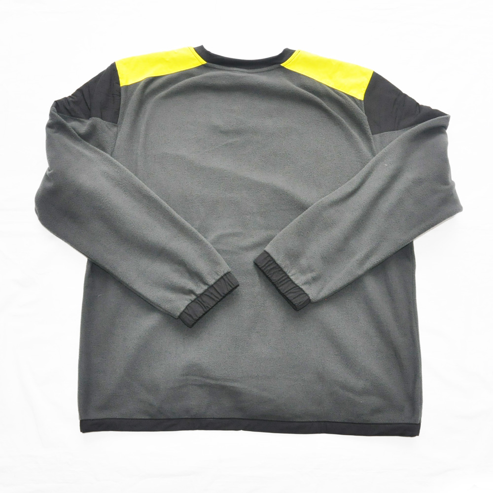 THE NORTH FACE/ザノースフェイス 90'EXTREME FLEECE PULL OVER NEON YELLOW×GRAY BIG SIZE-2