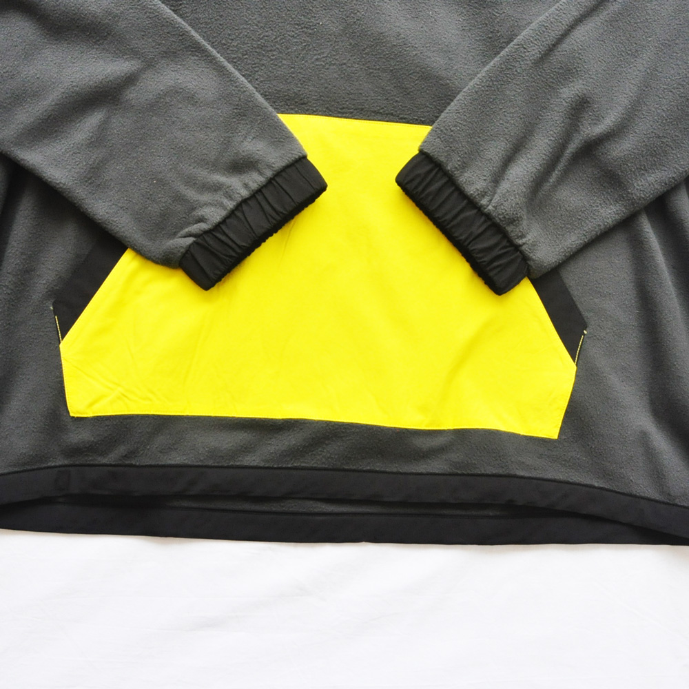 THE NORTH FACE/ザノースフェイス 90'EXTREME FLEECE PULL OVER NEON YELLOW×GRAY BIG SIZE-6