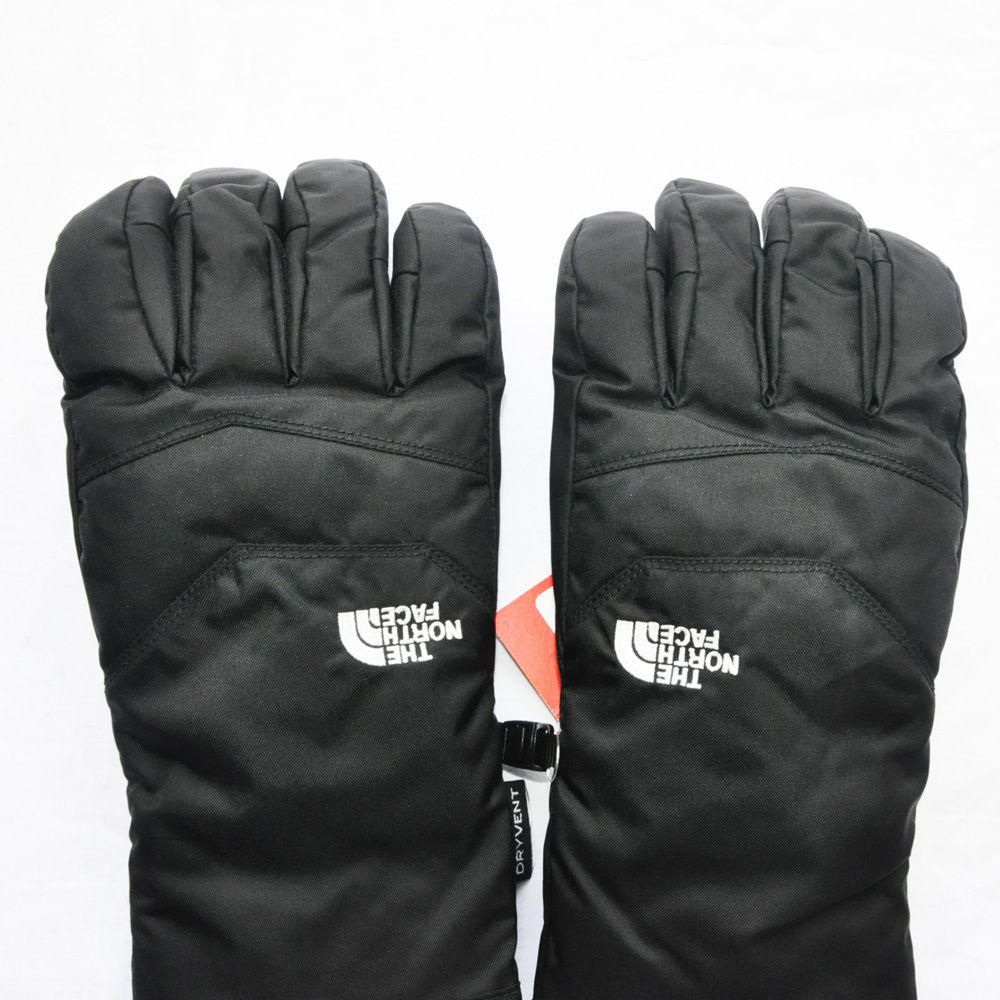 THE NORTH FACE/ザノースフェイス MEN'S WATER PRF DRY VENT GLOVE BLACK-3
