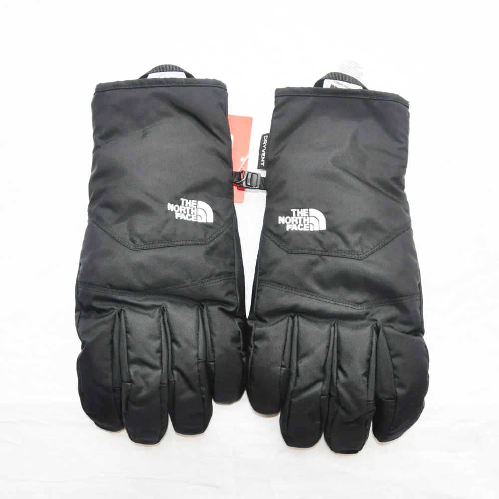 THE NORTH FACE/ザノースフェイス MEN'S WATER PRF DRY VENT GLOVE BLACK