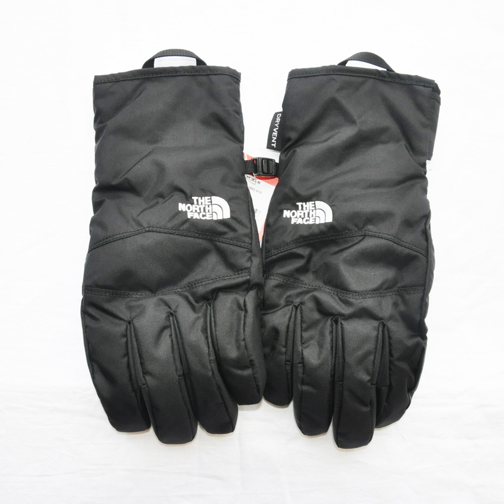THE NORTH FACE/ザノースフェイス WOMEN'S WATER PRF DRY VENT GLOVE BLACK