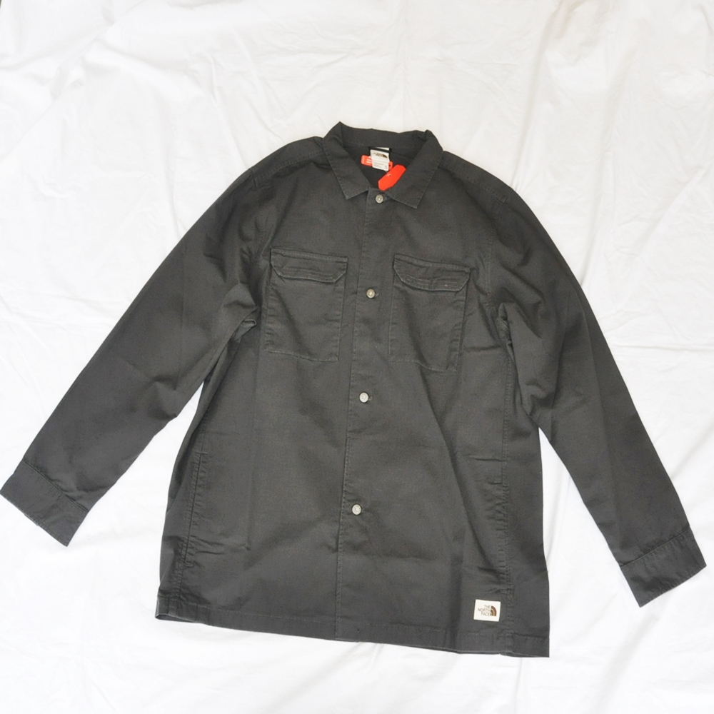 THE NORTH FACE/ザノースフェイス BATTLEMENT JACKET ASPHALT GREY BIG SIZE