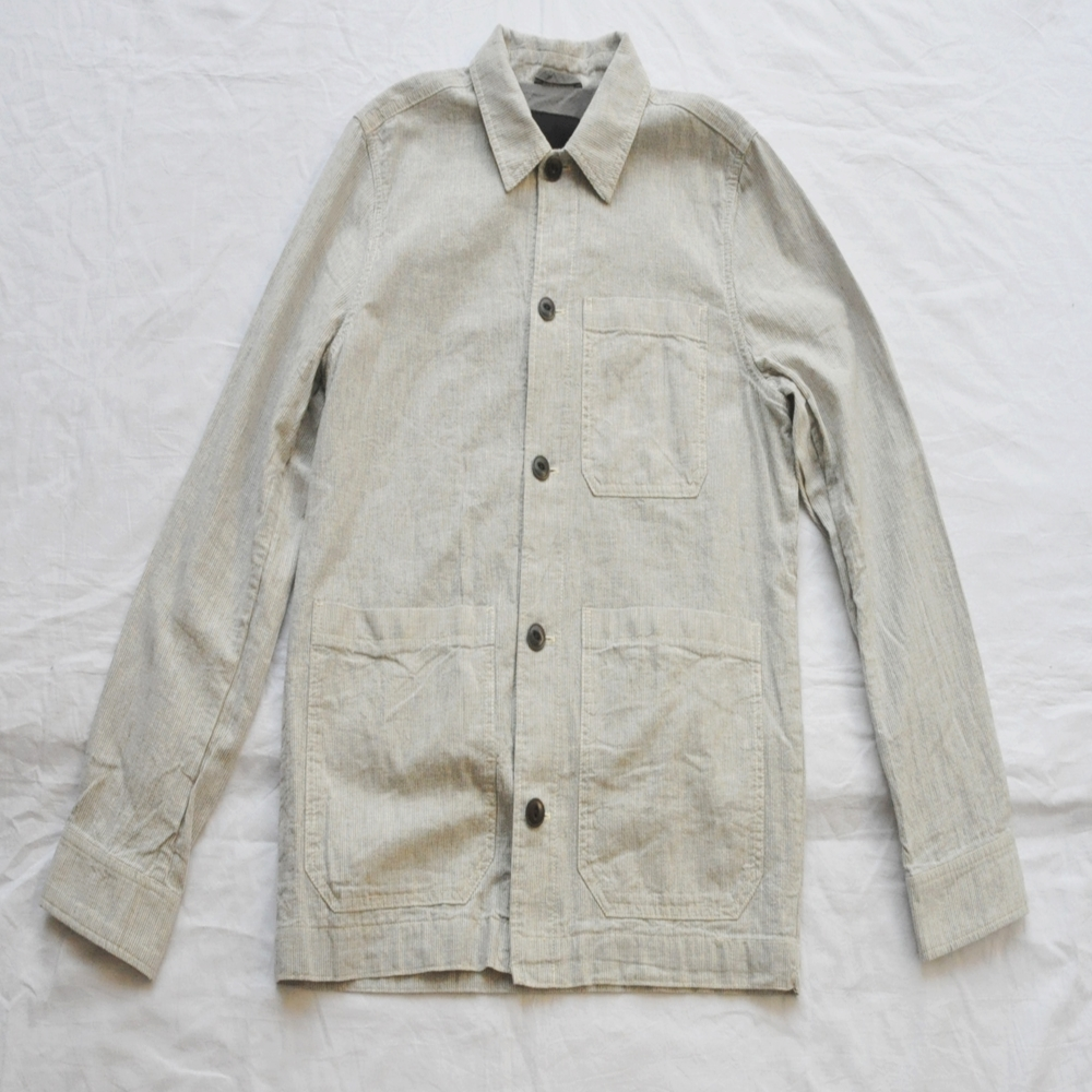 BANANA REPUBLIC/バナナリパブリック HICKORY PATTERN COVERALL JACKET