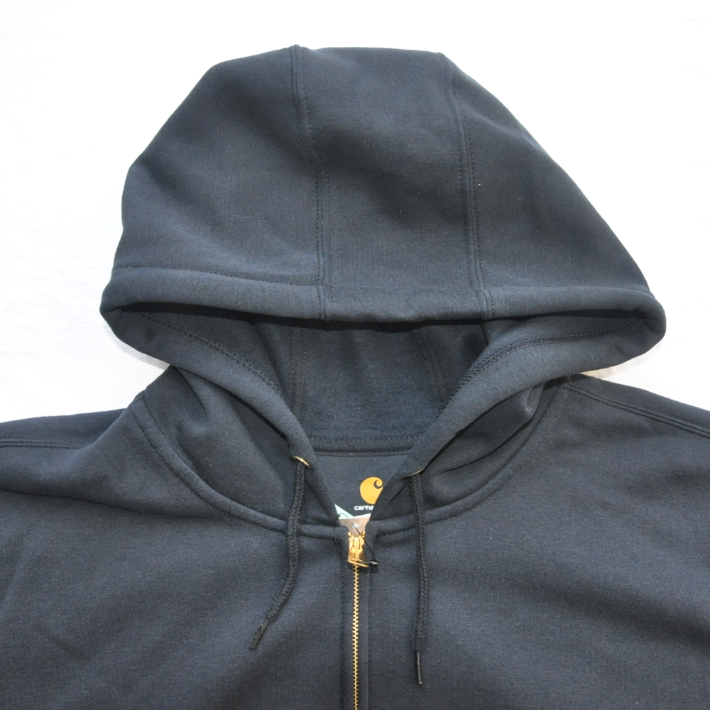 CARHARTT/カーハート RAIN DEFFENDER ORIGINAL FIT FULL ZIP HOODIE NAVY 4XL BIG SIZE-3
