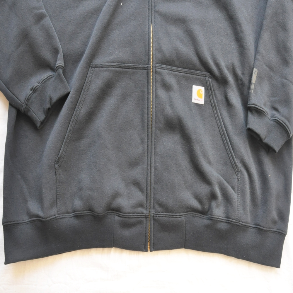 CARHARTT/カーハート RAIN DEFFENDER ORIGINAL FIT FULL ZIP HOODIE NAVY 4XL BIG SIZE-6
