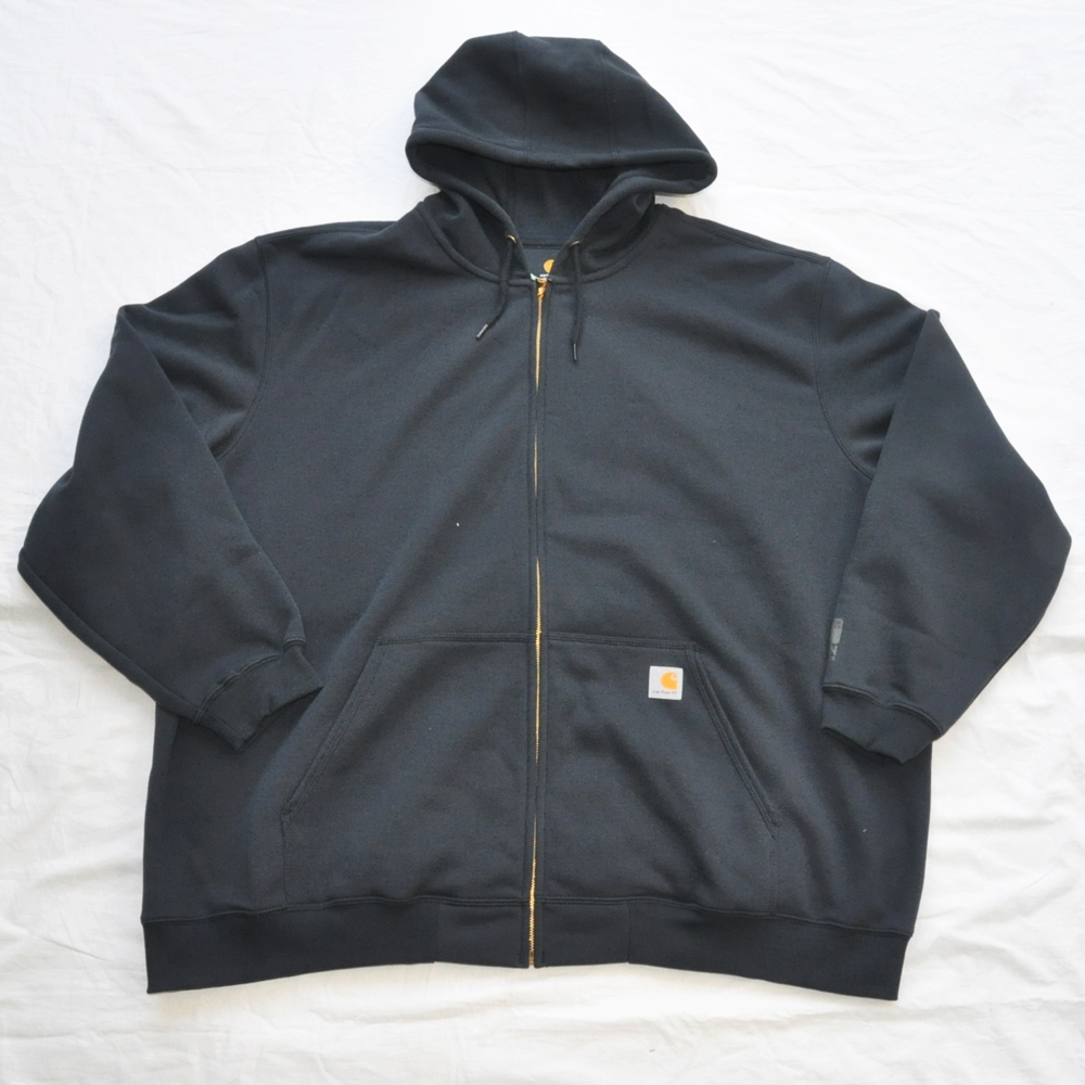CARHARTT/カーハート RAIN DEFFENDER ORIGINAL FIT FULL ZIP HOODIE NAVY 4XL BIG SIZE