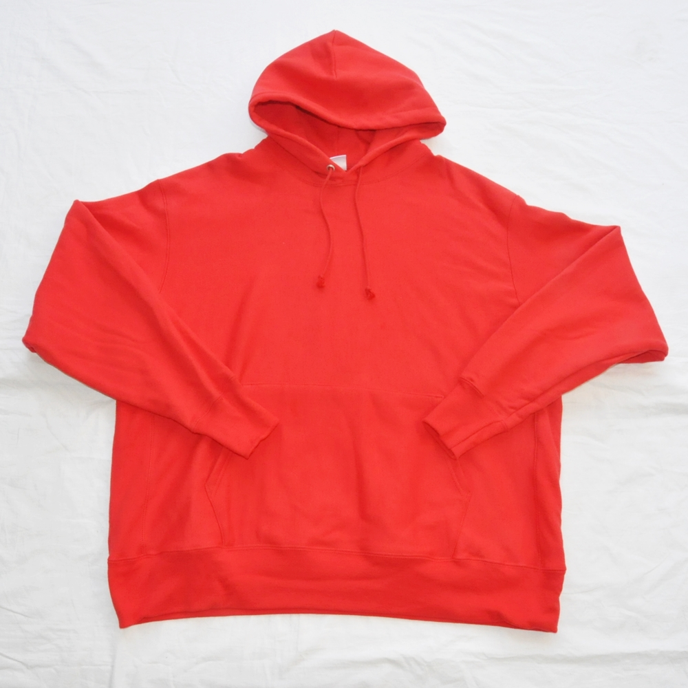 CHAMPION/チャンピオン REVERSE WEAVE SWEAT HOODIE RED BIG SIZE