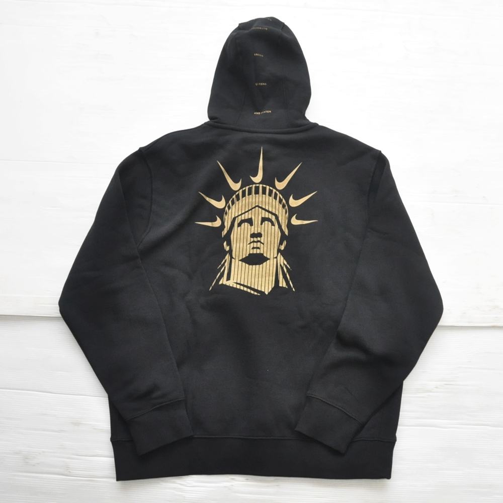 NIKE/ナイキ NIKE SPORTS WEAR 5 BOROUGH NYC PULL OVER SWEAT HOODIE BLACK NYC LIMITED | ストリートスタイルのセレクトストア | TUNNEL STORE - トンネルストア