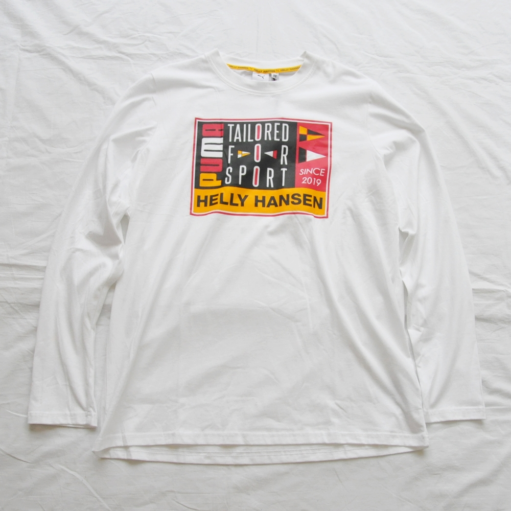 PUMA/プーマ PUMA×HELLY HANSEN TAILORED FOR SPORT LONG SLEEVE T-SHIRT