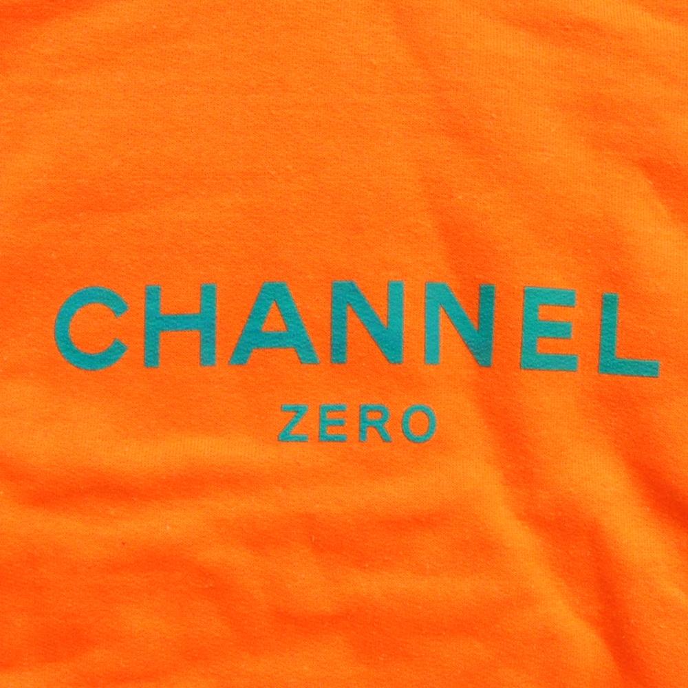 SSUR /サー SSUR CHANNEL ZERO CREW NECK SWEAT ORANGE×GREEN-4
