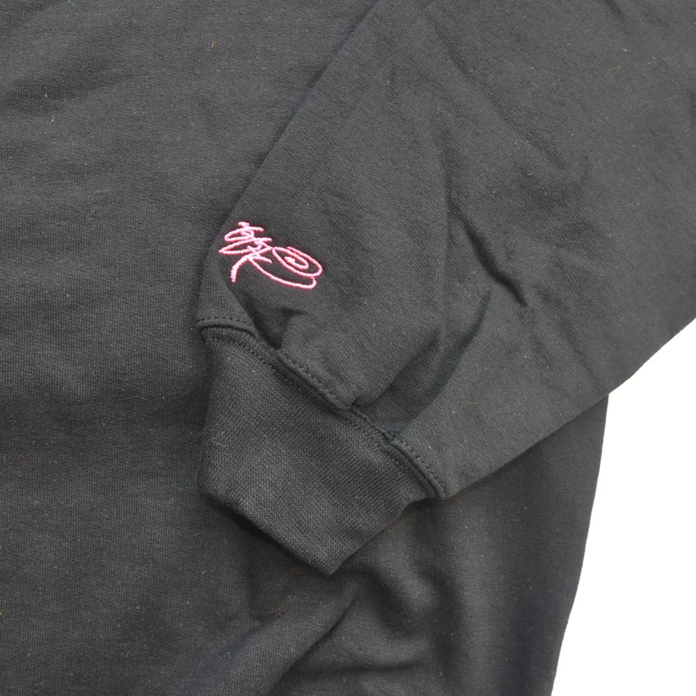 SSUR/サー SSUR CHANNEL ZERO CREW NECK SWEAT BLACK×NEON PINK-6
