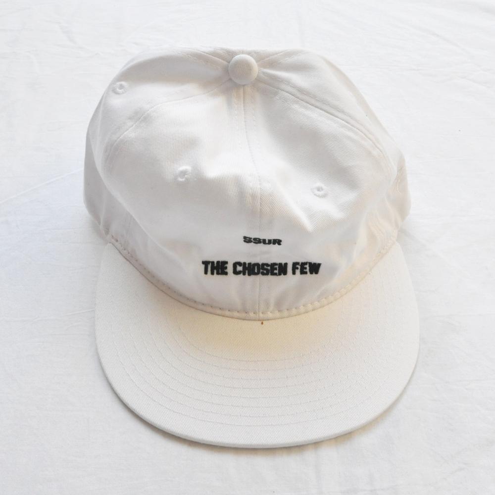 SSUR/サー SSUR THE CHOSEN FEW SNAP BACK CAP WHITE