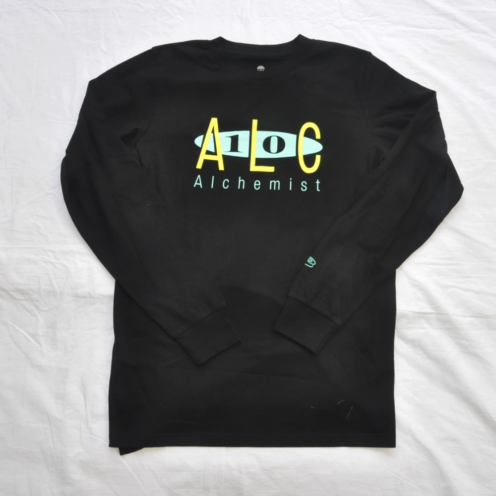SSUR /サー SSUR×The Alchemist LONG SLEEVE T-SHIRT BLACK