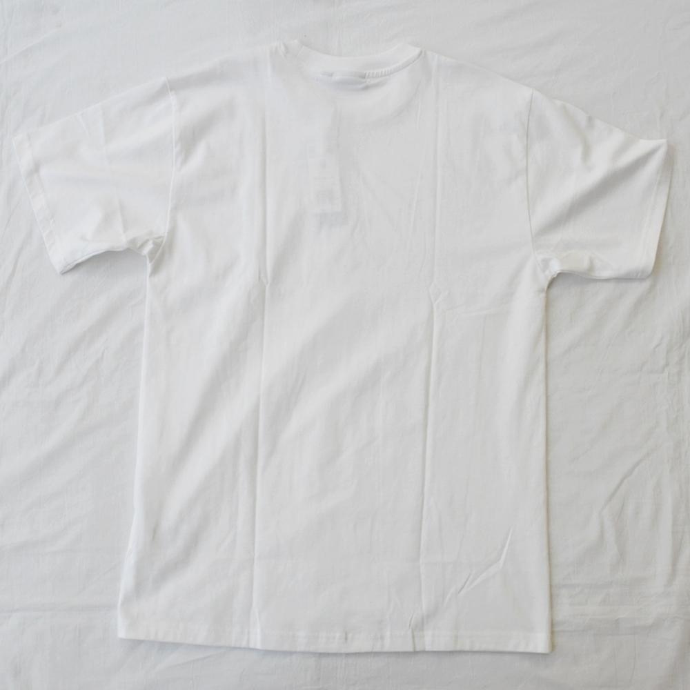 ADIDAS/アディダス adidas Original SKATEBOARDING TREFOIL LOGO PIN WHEEL T-SHIRT WHITE-2