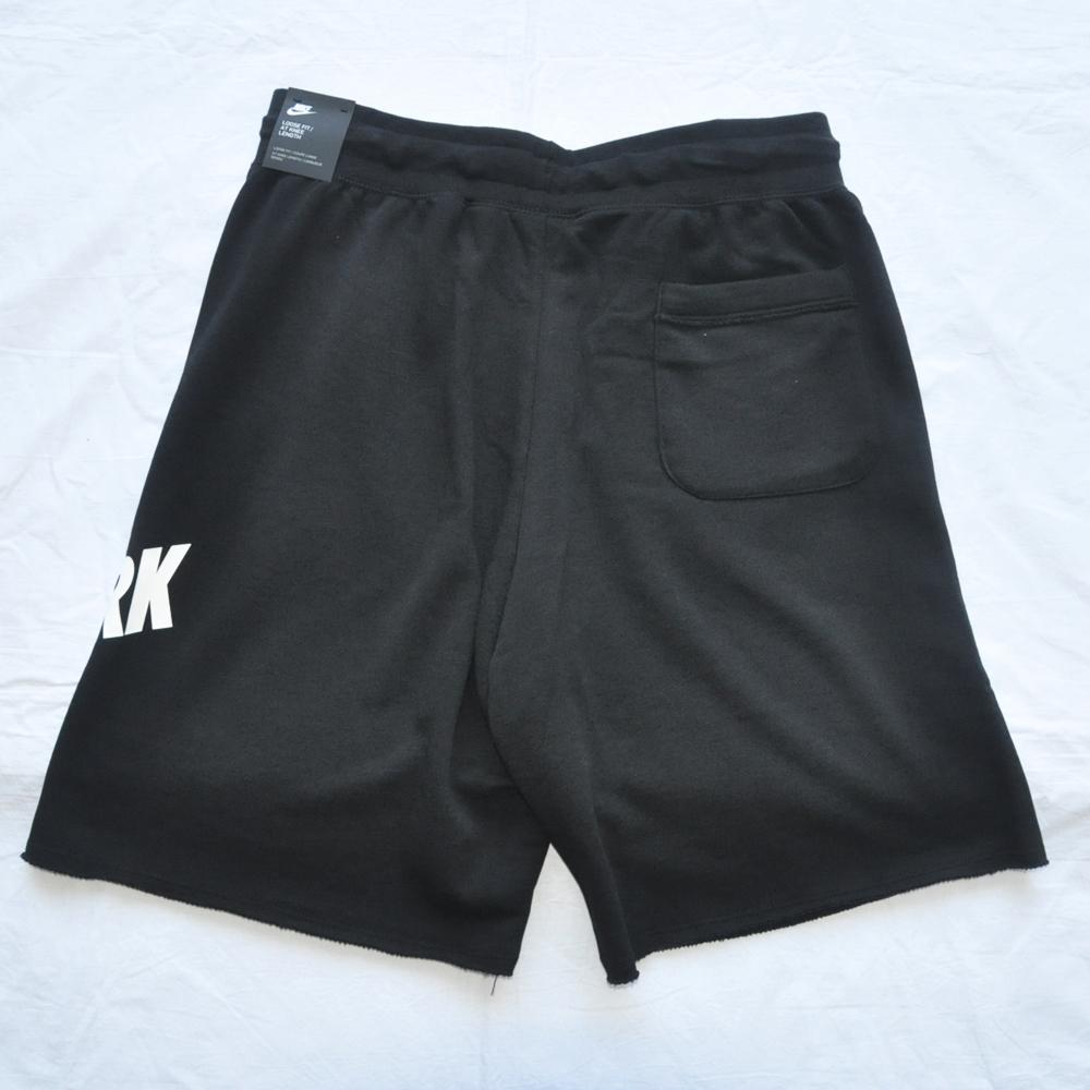 NIKE/ナイキ NIKE SPORTS WEAR NEW YORK LOOSE FIT SWEAT SHORTS BLACK NYC LIMITED-2