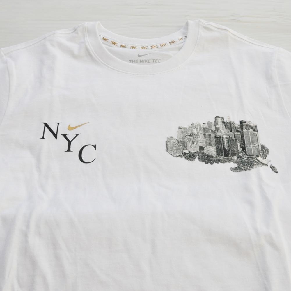 NIKE/ナイキ NIKE SPORTS WEAR 5 BOROUGH NY CITY T-SHIRT WHITE NYC LIMITED M~XL-3