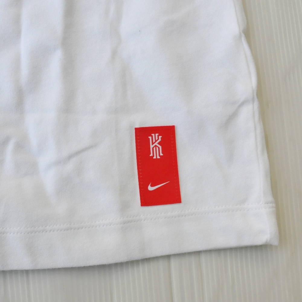 NIKE/ナイキ KYRIE LOGO ILLUSION CONFUSION DRY FIT  T-SHIRT WHITE BIG SIZE-5