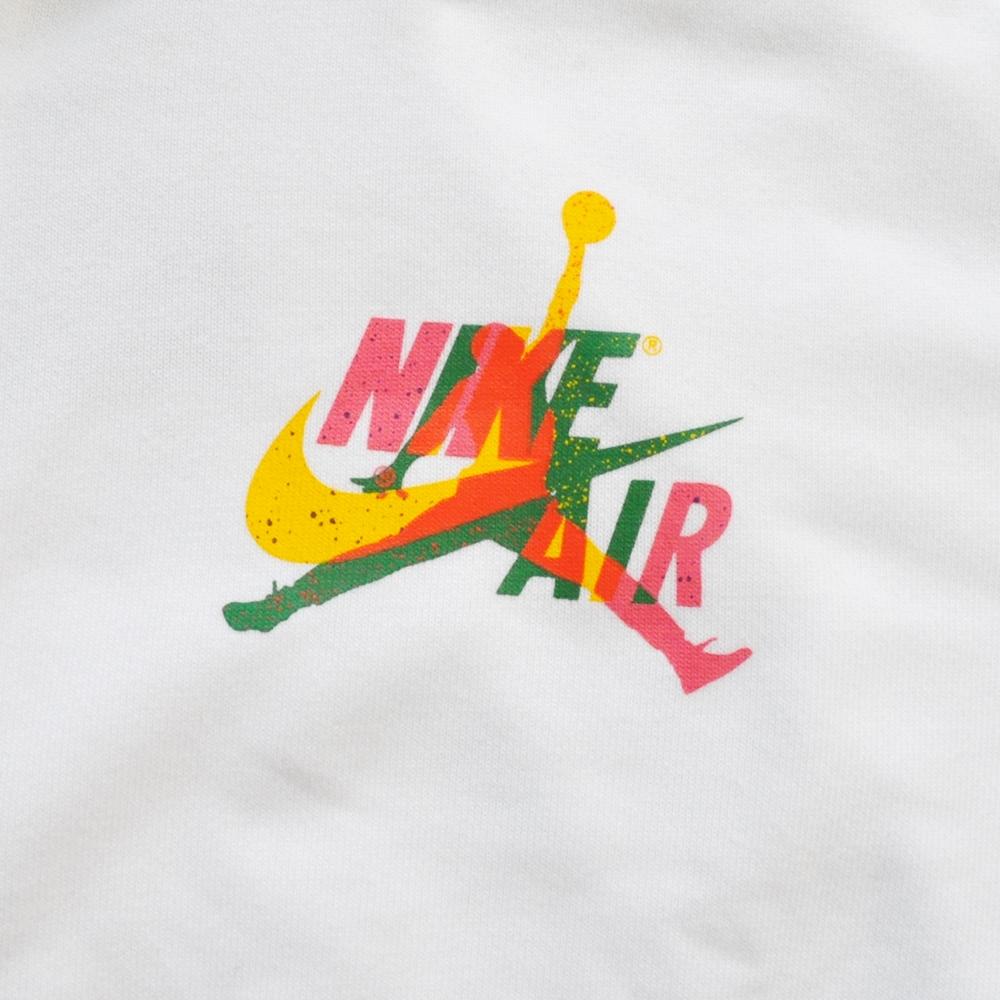 NIKE/ナイキ AIR JORDAN STANDARD FIT JUMP MAN FULL ZIP HOODE WHITE BIG SIZE-5