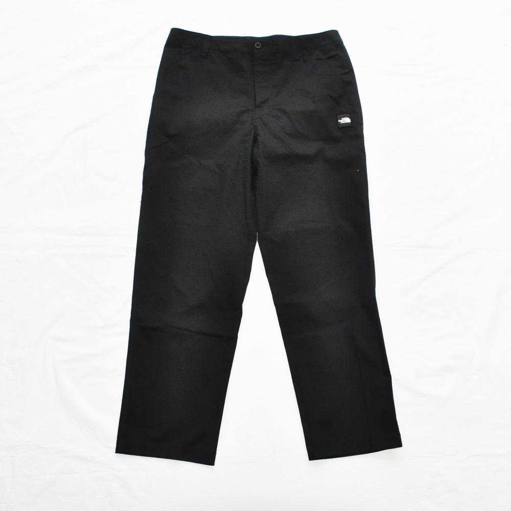 THE NORTH FACE/ザノースフェイス BACK PRINT SLACK PANTS BLACK BIG SIZE