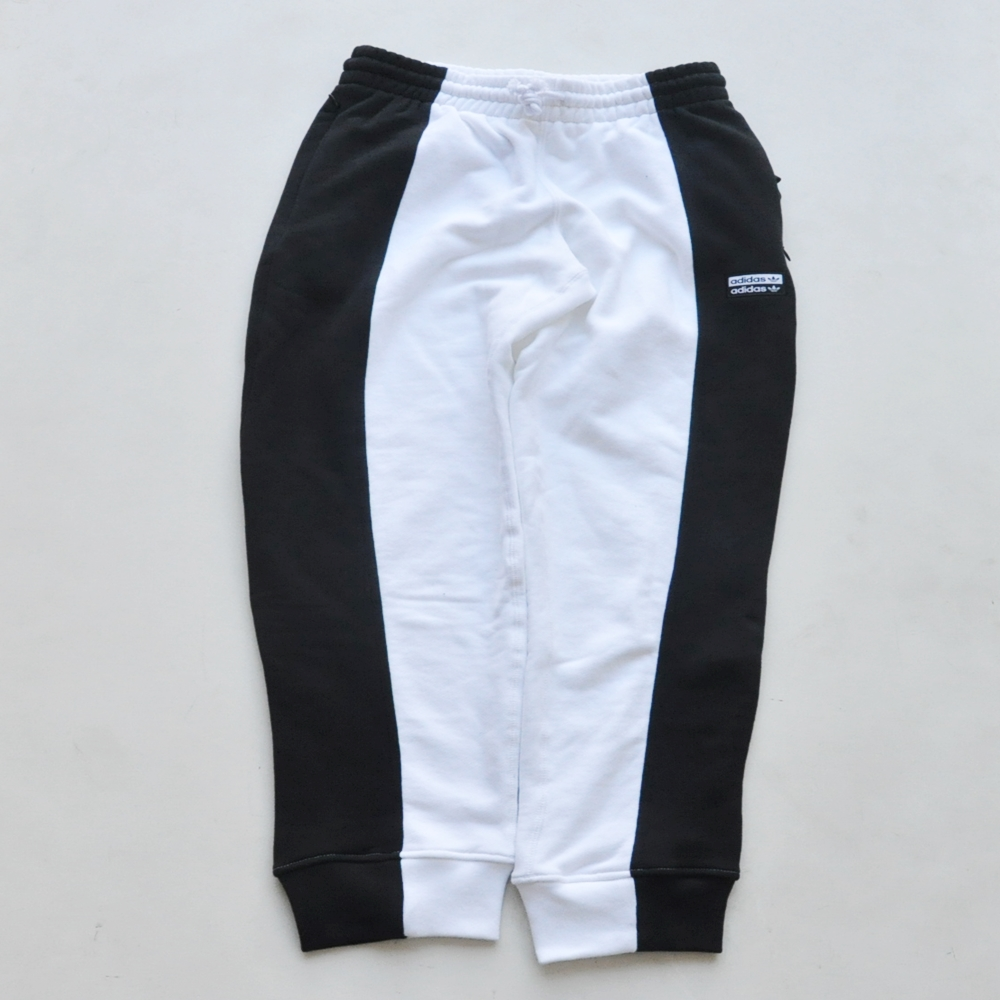 ADIDAS/アディダス adidas Originals BLACK×WHITE SWITCH COLOR SWEAT PANTS