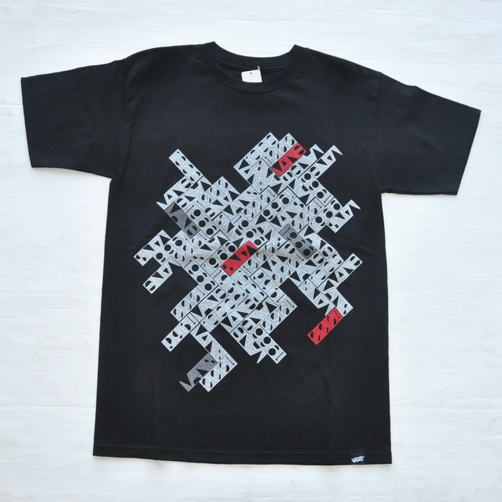 VANS/バンズ 1966 VANS BOX LOGO T SHIRT BLACK
