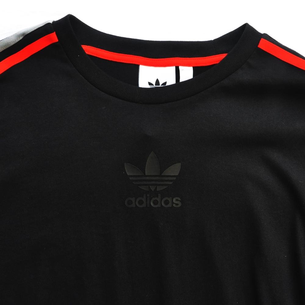 ADIDAS/アディダス adidas Originals CHILE 20 LONG SLEEVE T-SHIRT BLACK-3