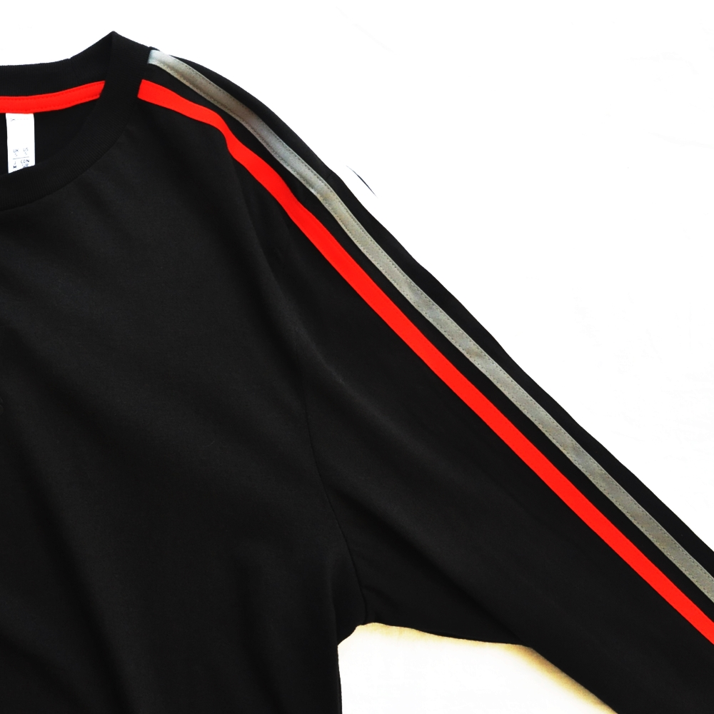 ADIDAS/アディダス adidas Originals CHILE 20 LONG SLEEVE T-SHIRT BLACK-6