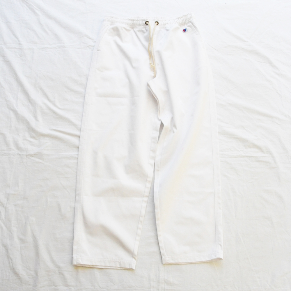 CHAMPION/チャンピオン REVERSE WEAVE STANDARD WORK PANTS WHITE M,L,XL