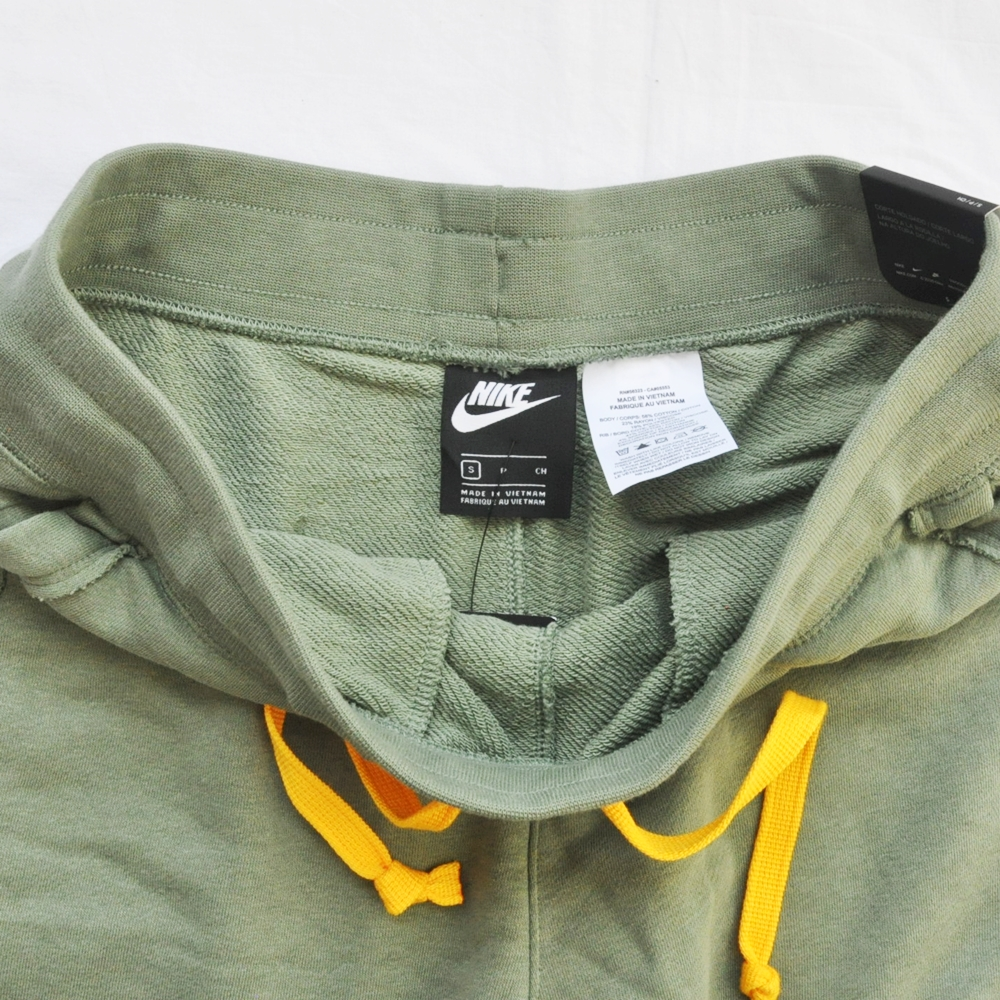 NIKE/ナイキ NIKE SPORTS WEAR NEW YORK LOOSE FIT SWEAT SHORTS OLIVE NYC LIMITED-3