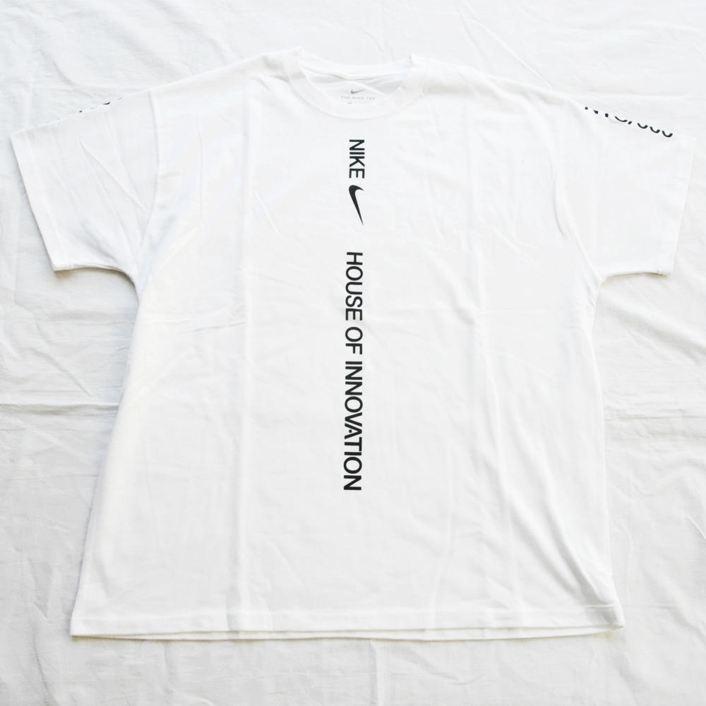 NIKE/ナイキ HOUSE OF INNOVATION T-SHIRT WHITE NYC LIMITED M~XXL