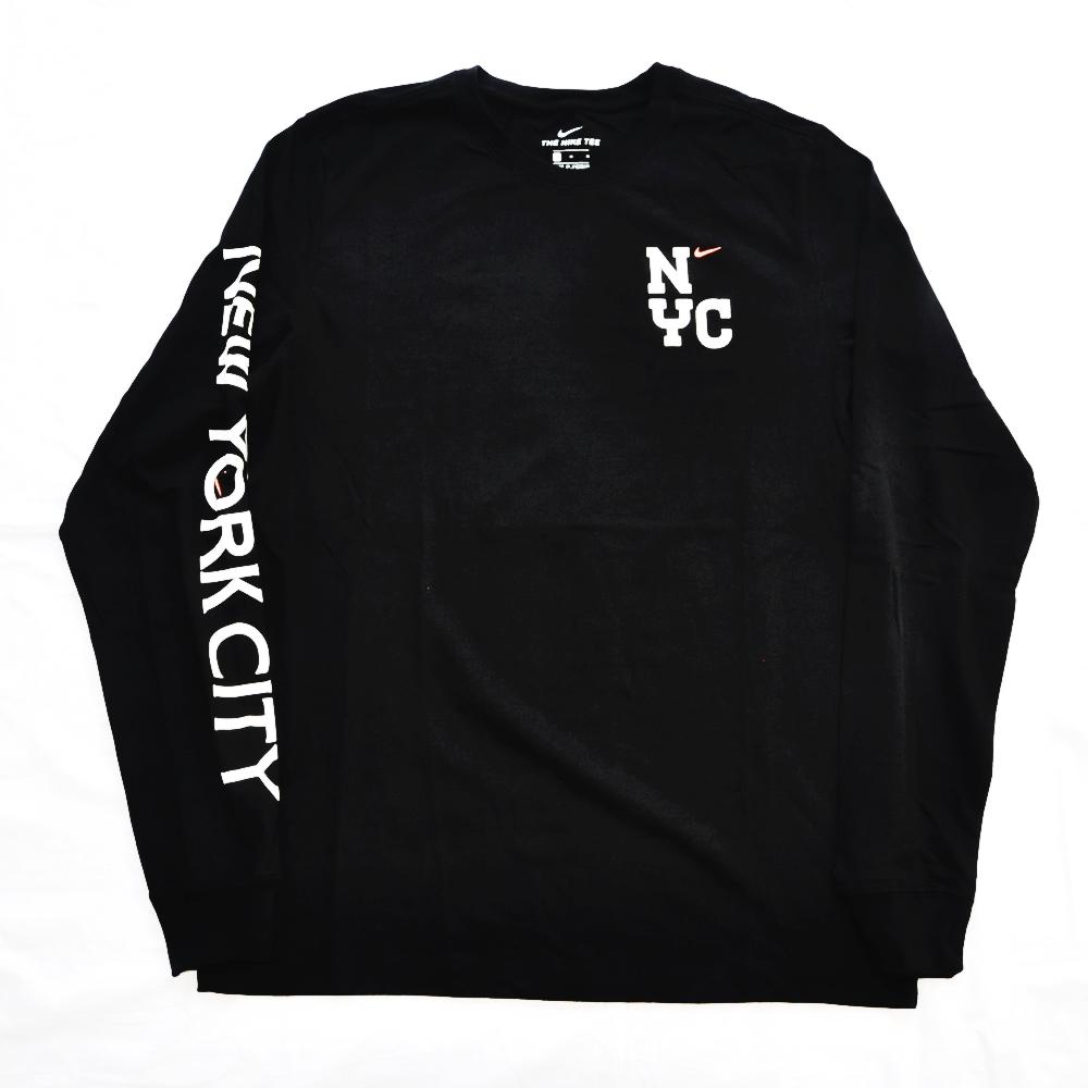 NIKE/ナイキ 5 BOROUGH NYC CITY 20 LONG SLEEVE T-SHIRT  BLACK NYC LIMITED S~XL-2